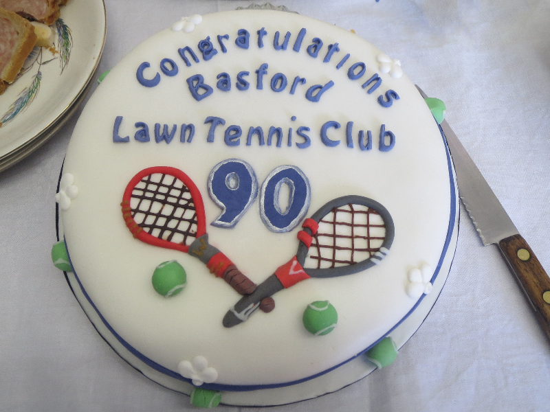 90th Celebration Cake made by Anna