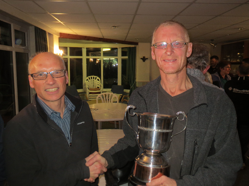 Presentation of Member of the Year Award to Dave Egerton, 8th December 2016