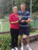 2018 Mixed Doubles Winners Judy Tierney and Chris Fernyhough