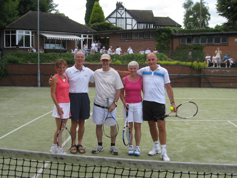 Winners, Runners Up and Club President on President's Day 2010
